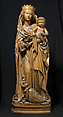 Virgin and Child of the Apocalypse, Limewood, German