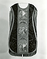 Chasuble, Silk & metal thread, Spanish