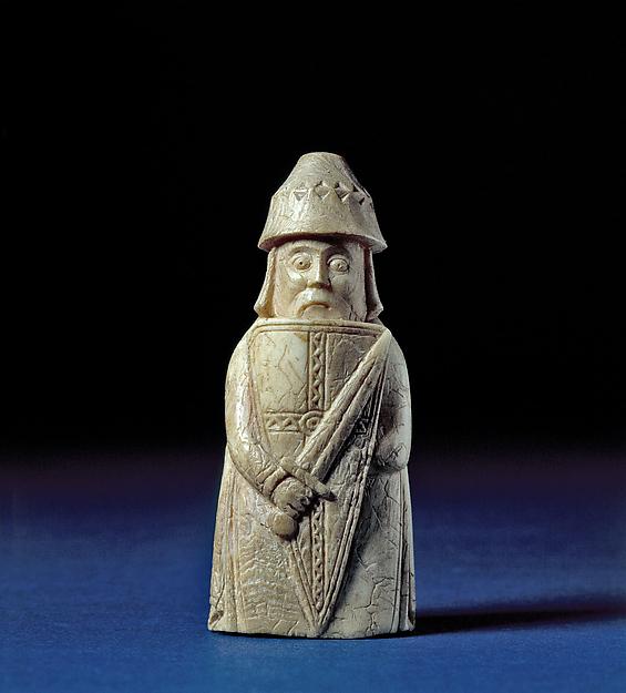 Warder, Walrus ivory, Scandinavian