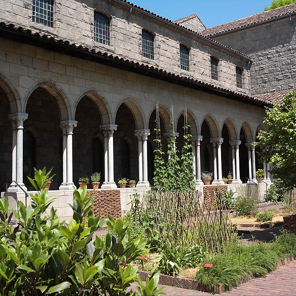 Cloister, Marble, French