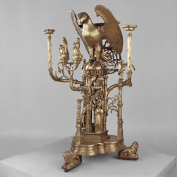 Lectern in the Form of an Eagle, Attributed to Jehan Aert van Tricht (Netherlandish, active Maastricht 1492–1501), Brass, South Netherlandish