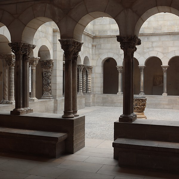 Saint-Guilhem Cloister, Limestone, French