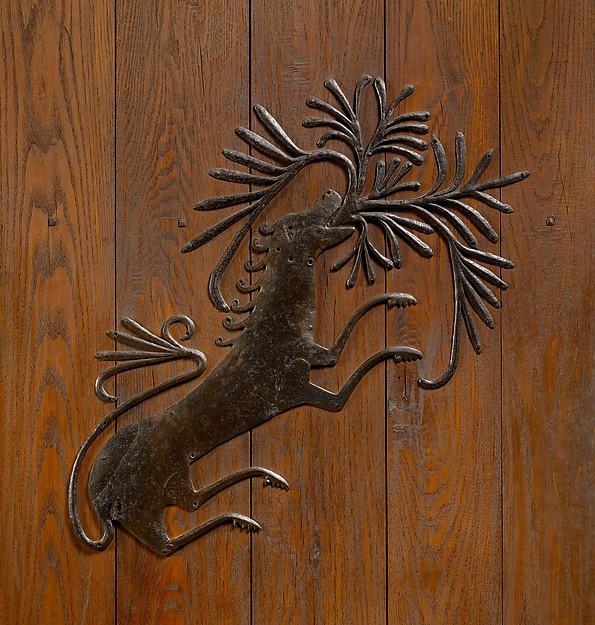 Door Mount, Iron, French