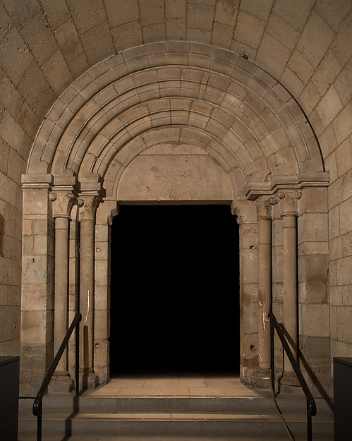 Doorway, Limestone, oolitic, French