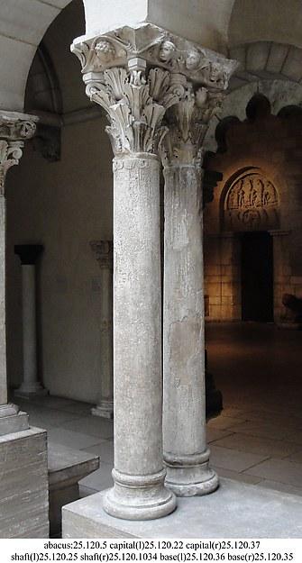 Column Shaft, Stone, French