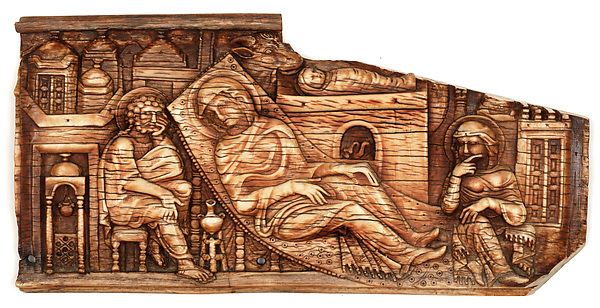 Ivories of the So-Called Grado Chair: Nativity of Christ, Ivory