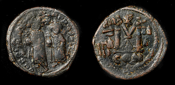 Follis of Heraclius, Copper