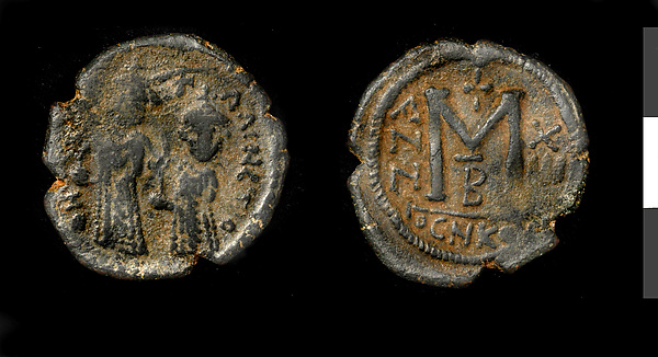 Follis of Persian Occupation, Copper