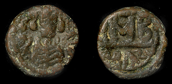 12 Nummi of Governor 'Abd al-Aziz, Copper