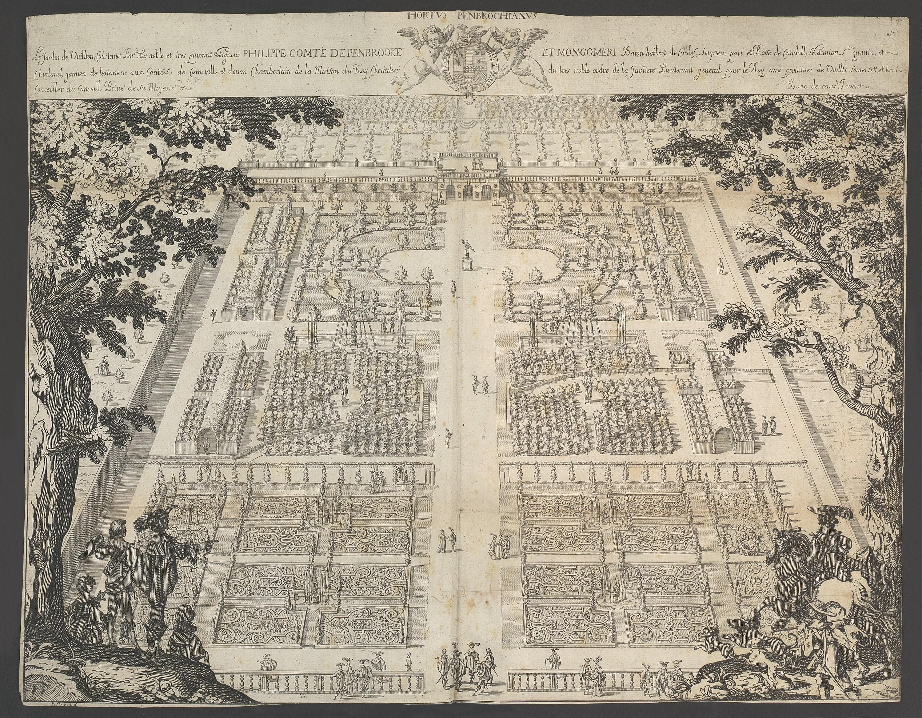 Isaac De Caus Wilton Garden The Metropolitan Museum Of Art