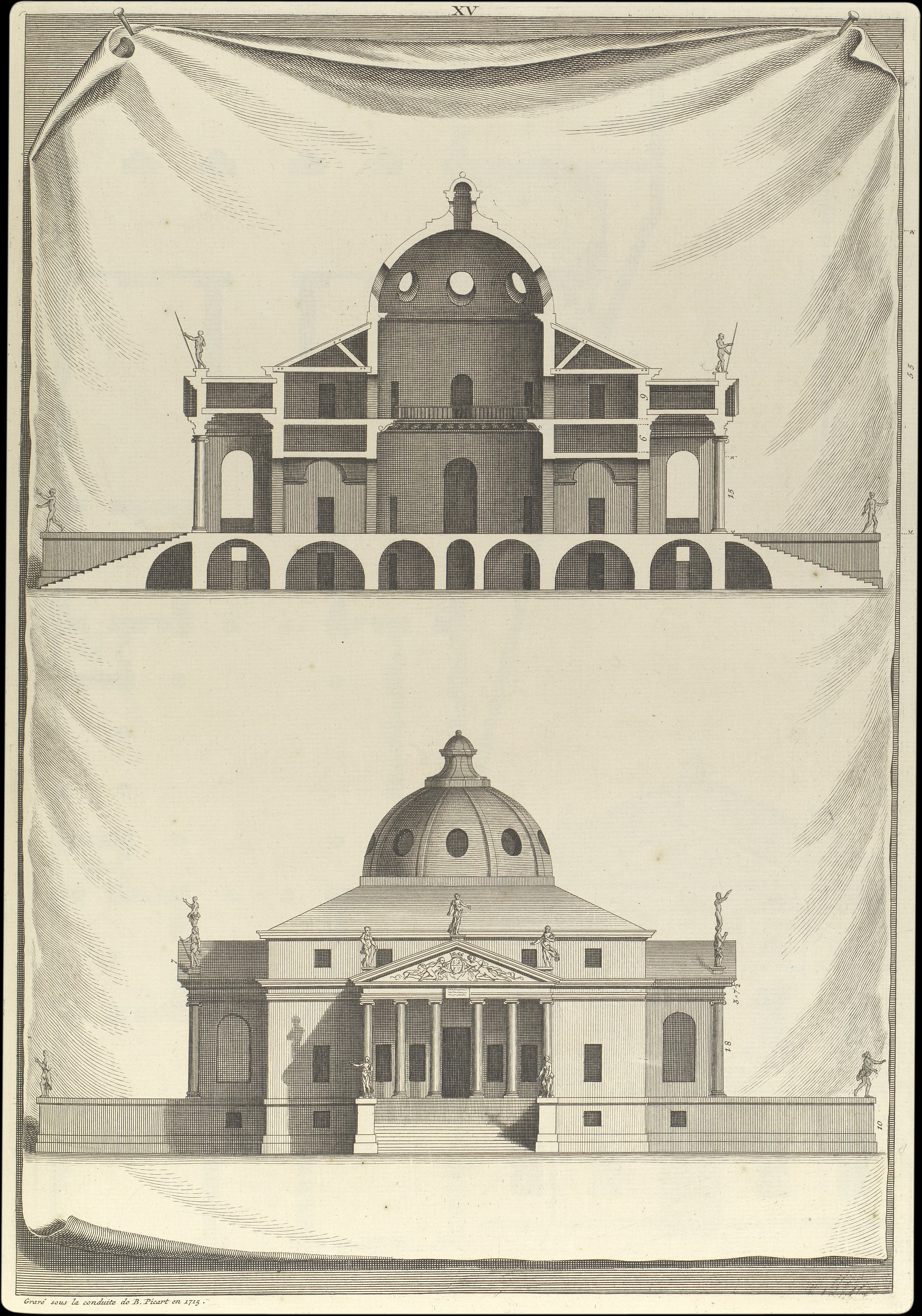 Andrea Palladio Villa Rotunda In The Architecture Of A