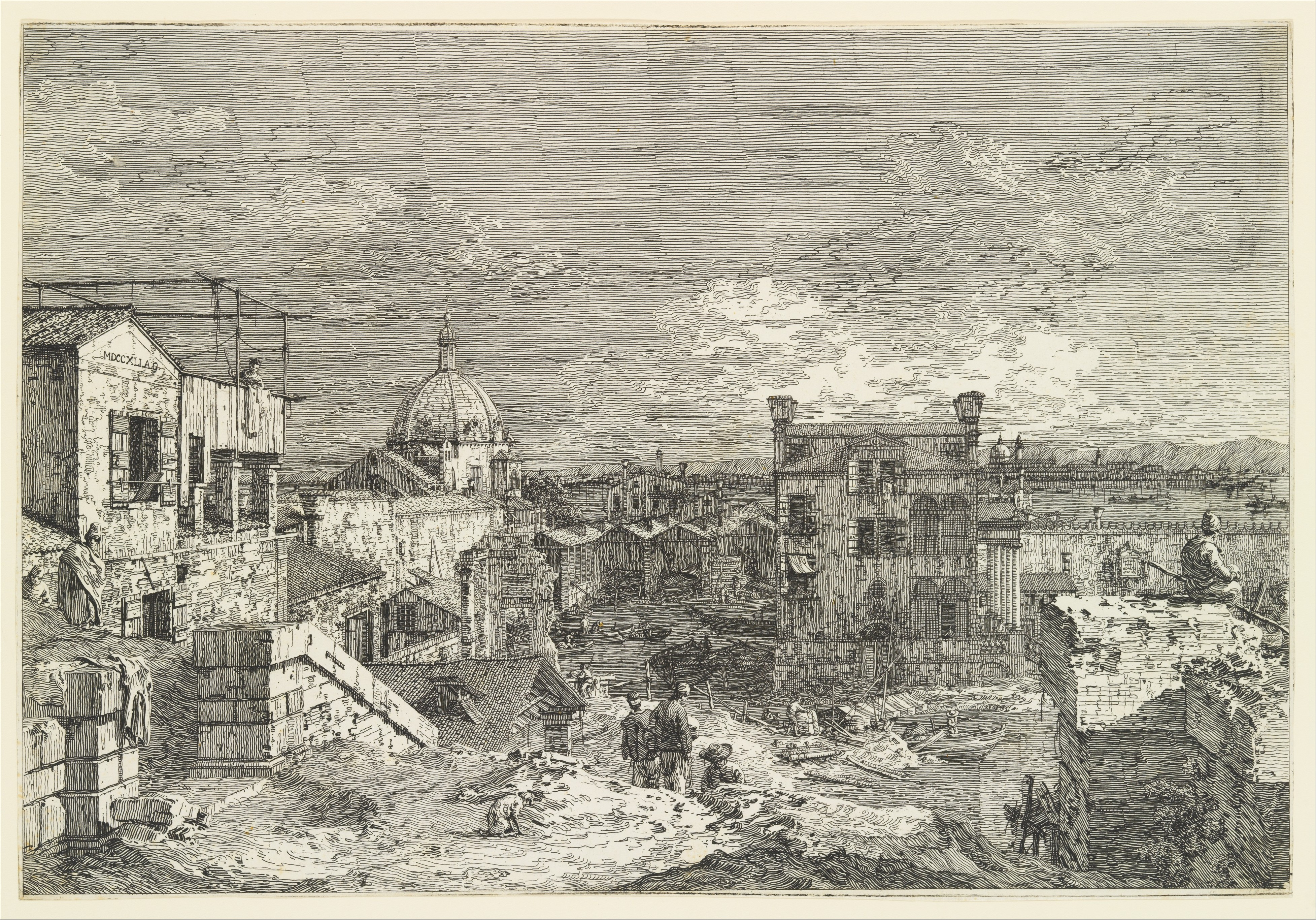 Canaletto (Giovanni Antonio Canal) | Imaginary View of