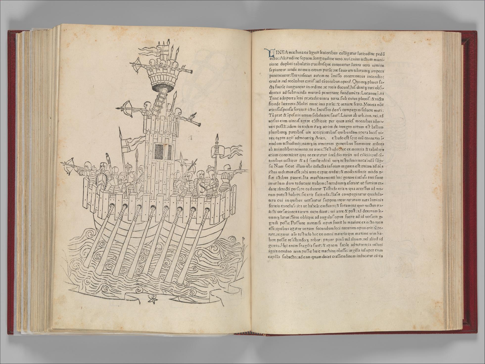 Roberto Valturio, <i>De Re Militari</i> (Verona, 1472).