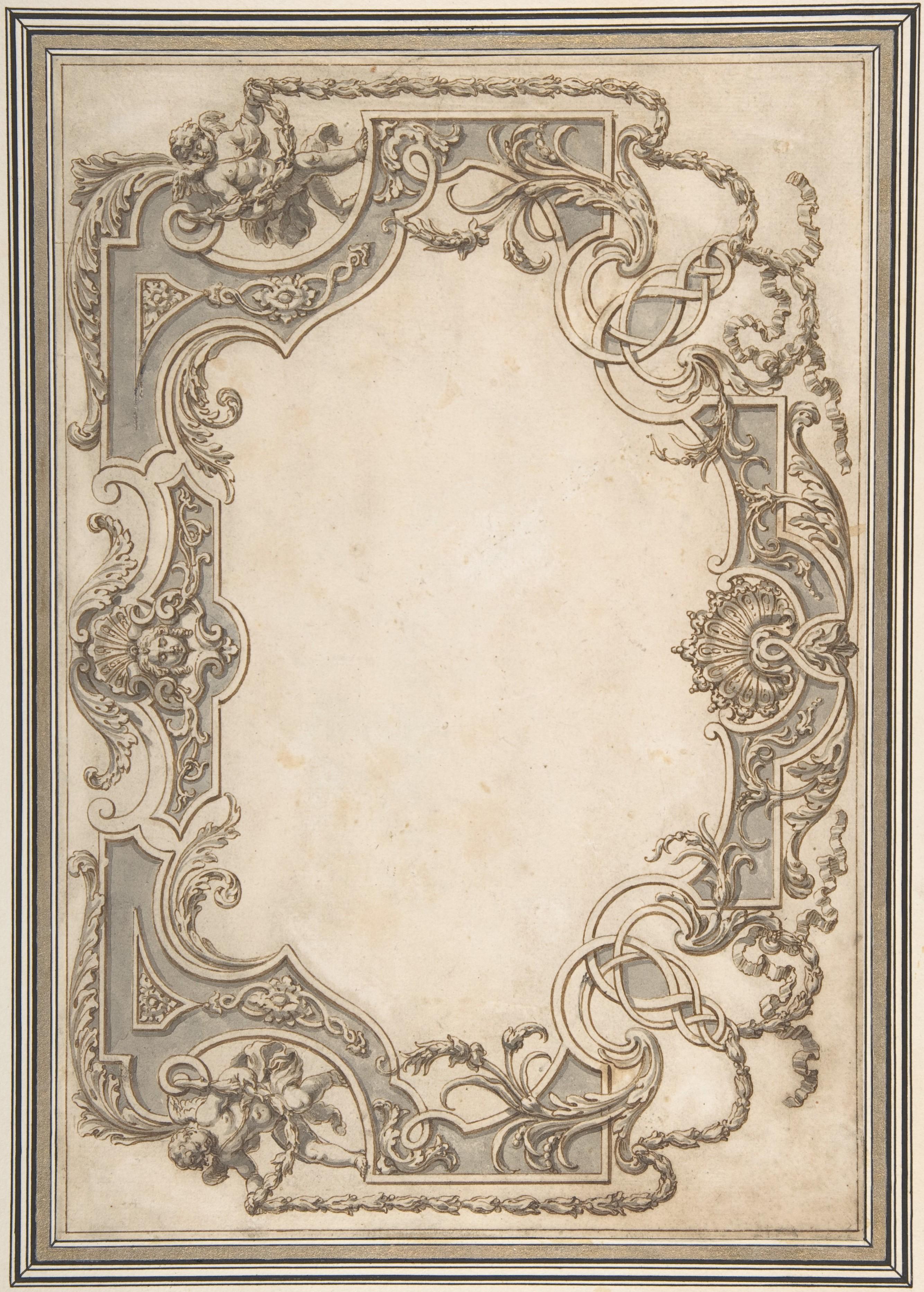 Jean Berain Design For A Ceiling The Met