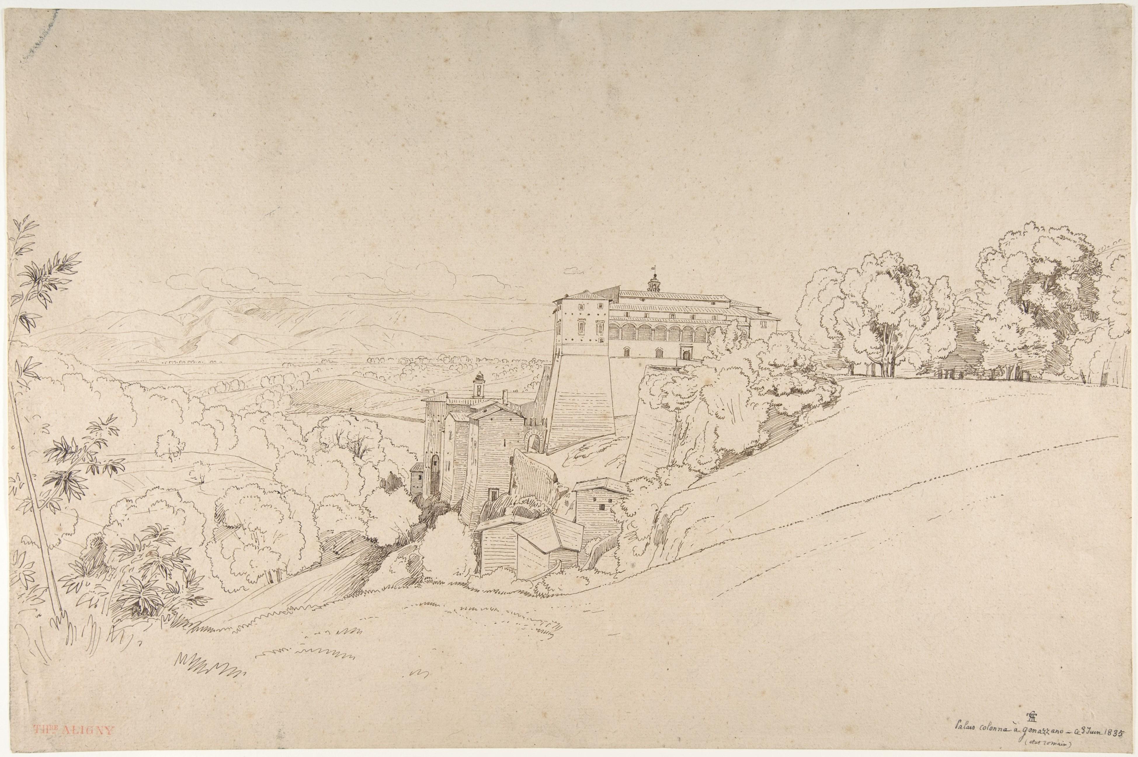 Monte Porzio Catone Cosa Vedere claude-félix-théodore (called caruelle) d'aligny | castello