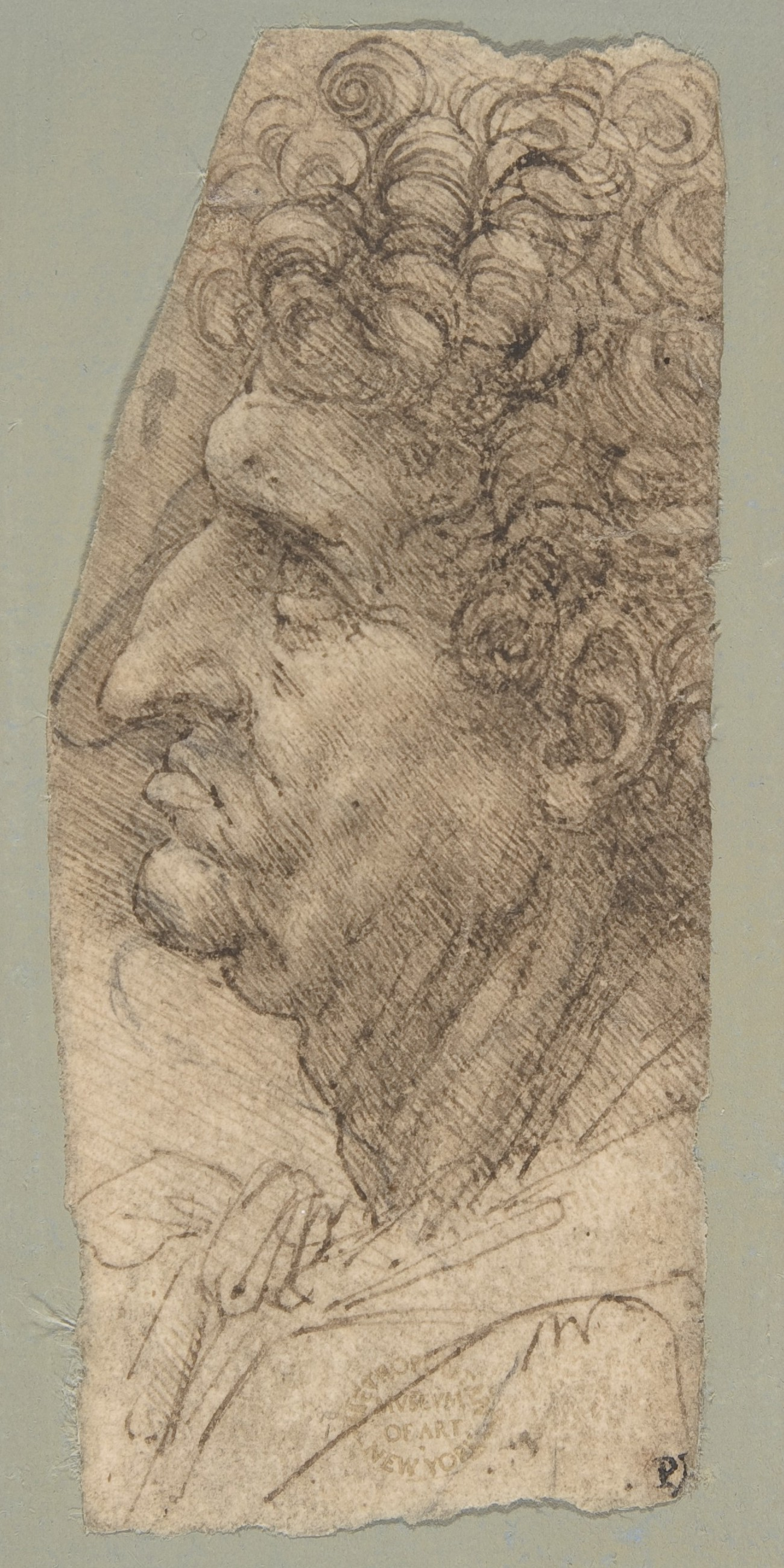 Drawing by von Leonardo da Vinci