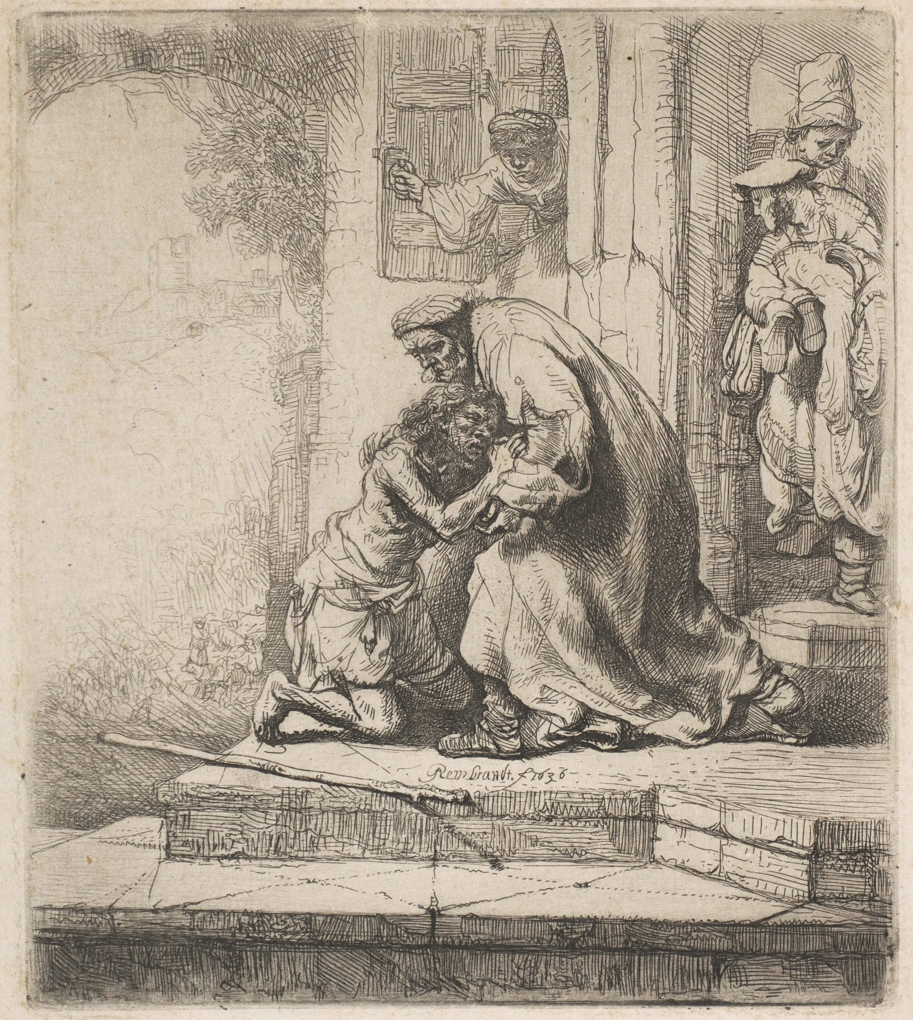 Rembrandt Rembrandt Van Rijn The Return Of The Prodigal Son The Met