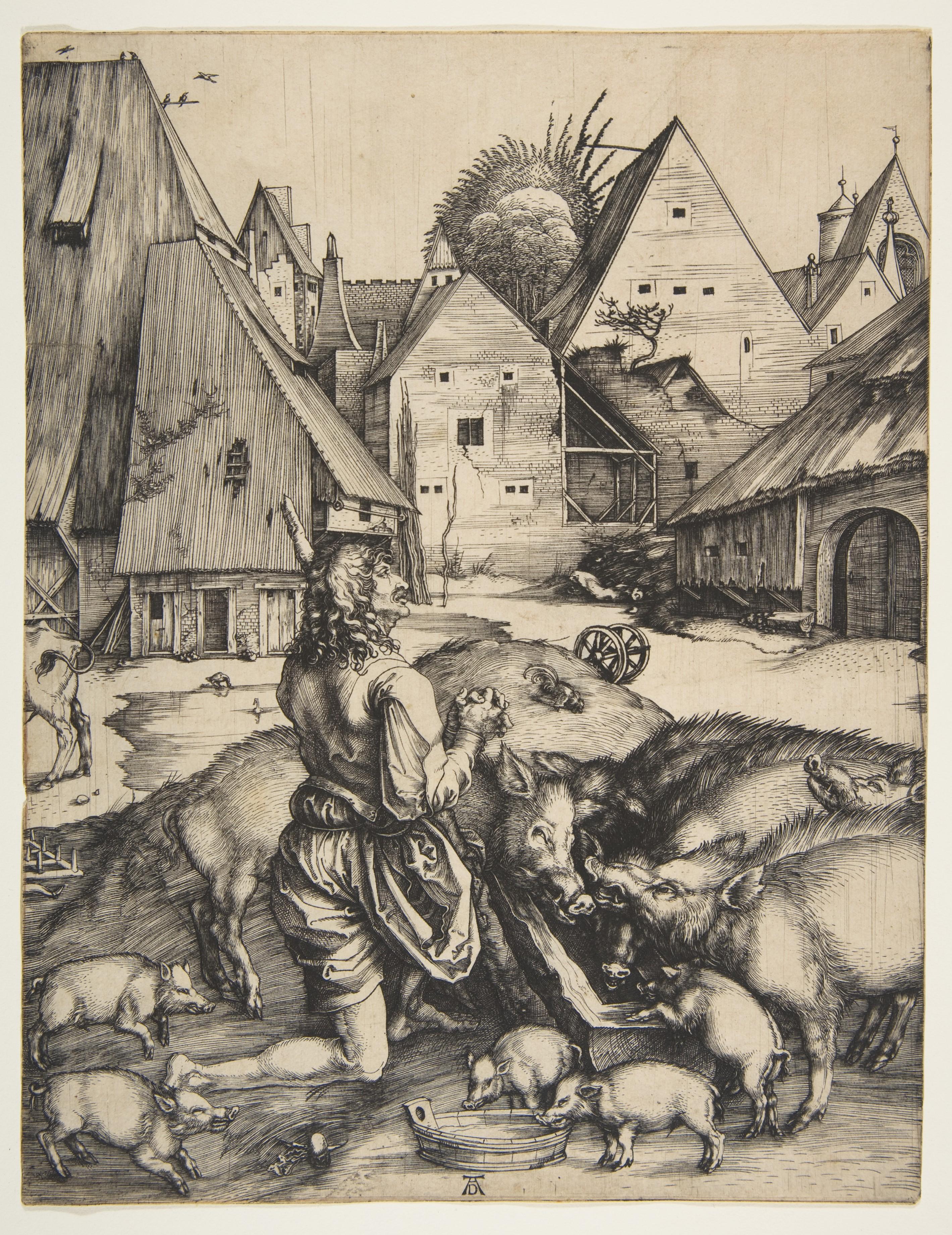 Albrecht Durer The Prodigal Son The Met
