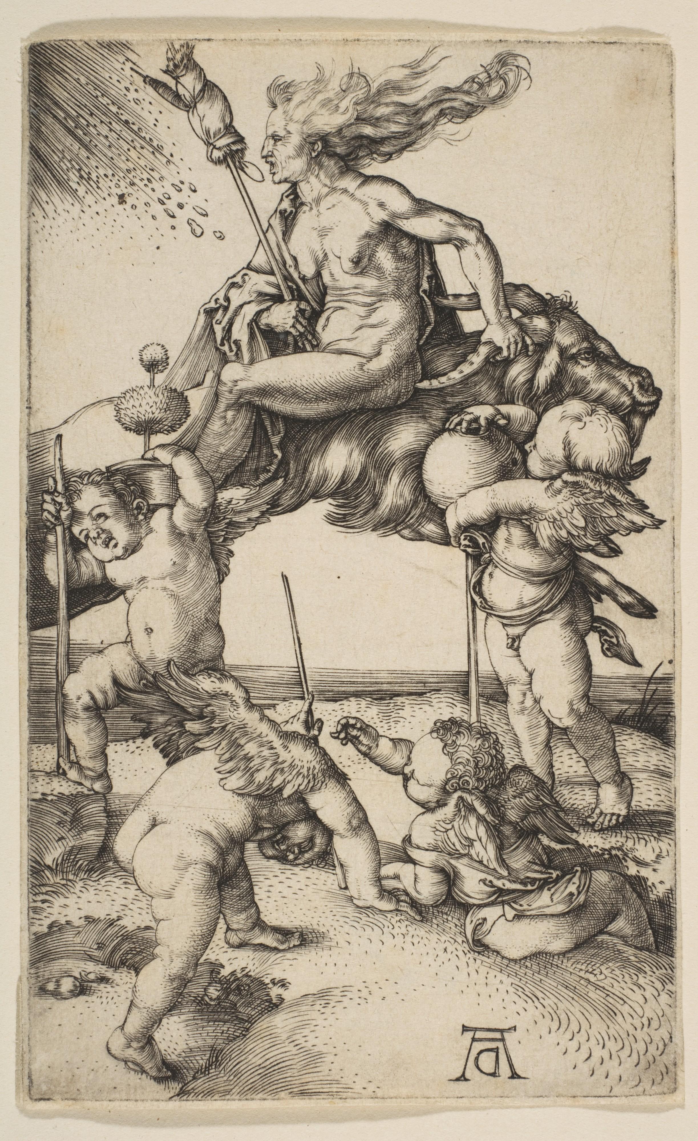 Albrecht Dürer   The Witch   The Met