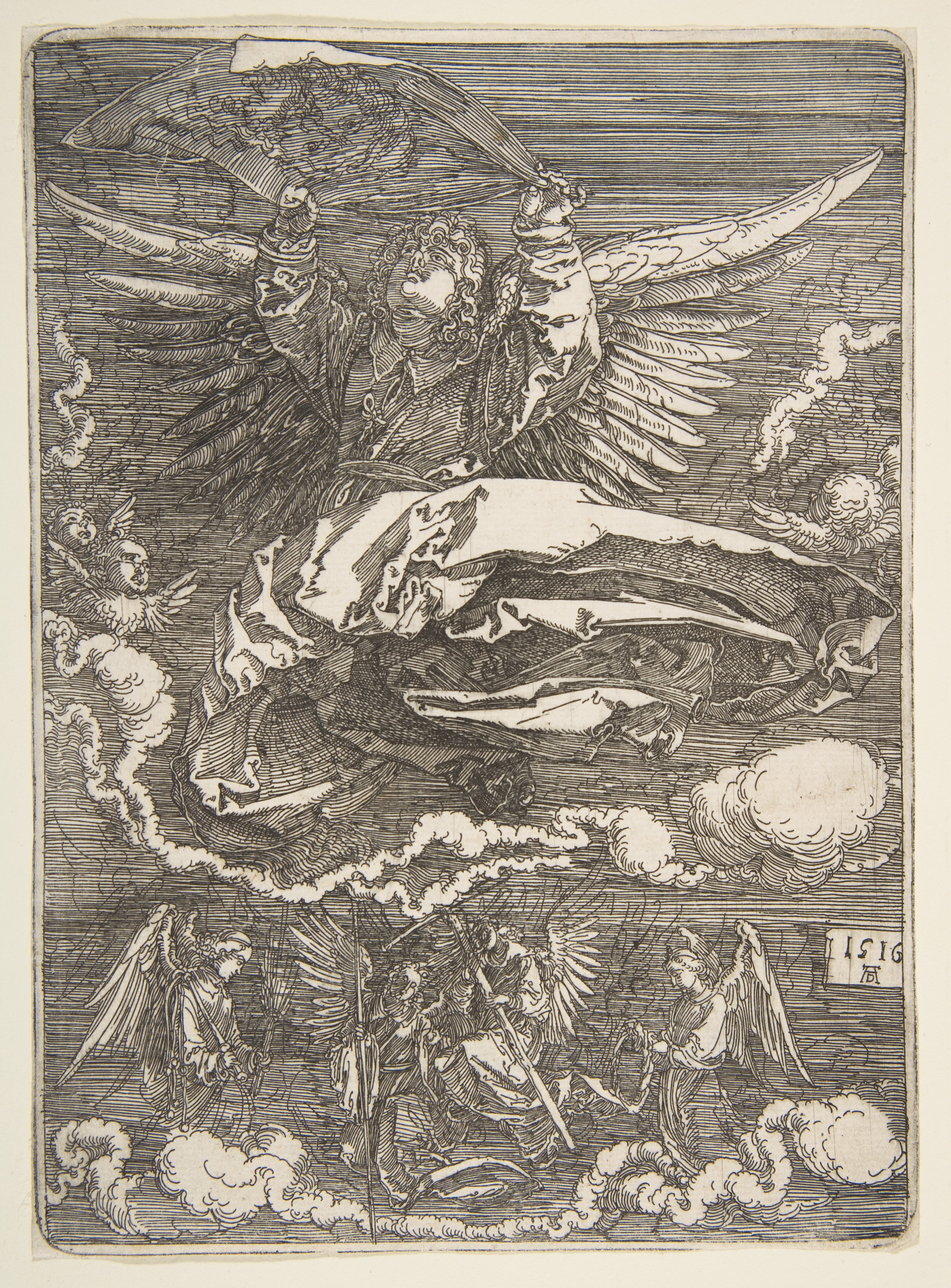 Albrecht Dürer | The Sudarium Held by One Angel | The Met