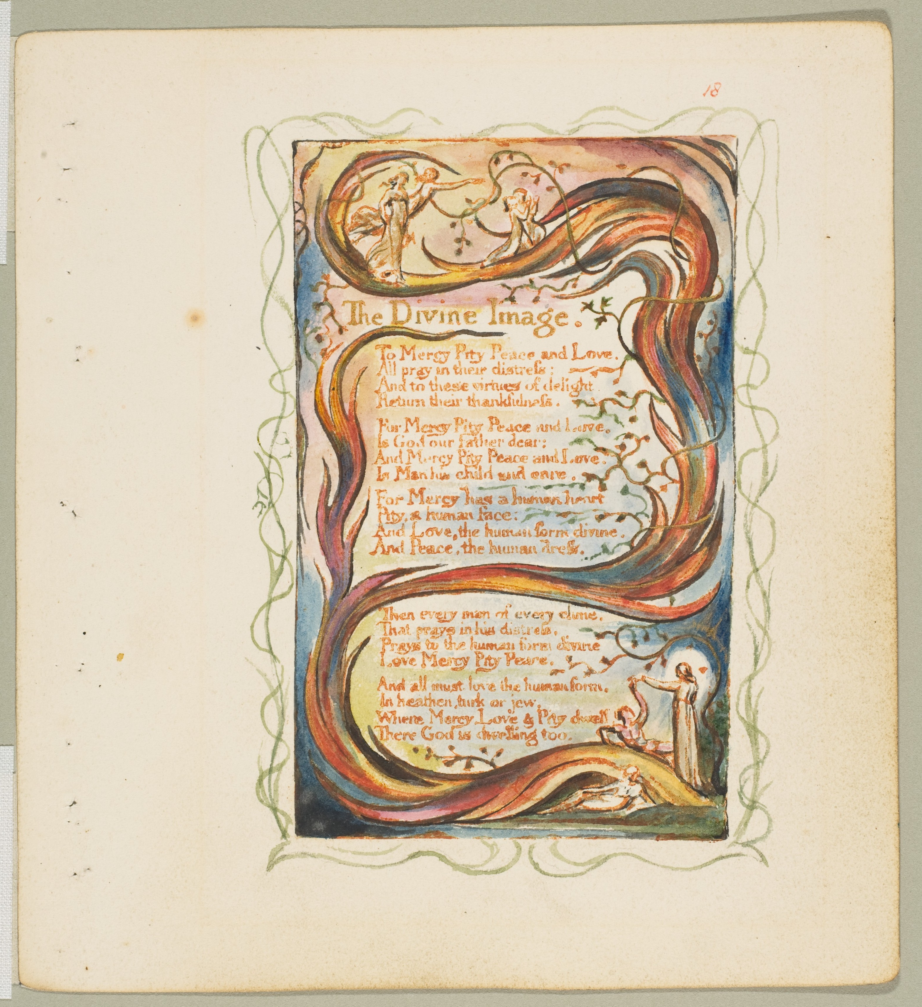 William Blake | Songs of Innocence and of Experience: The Divine ...