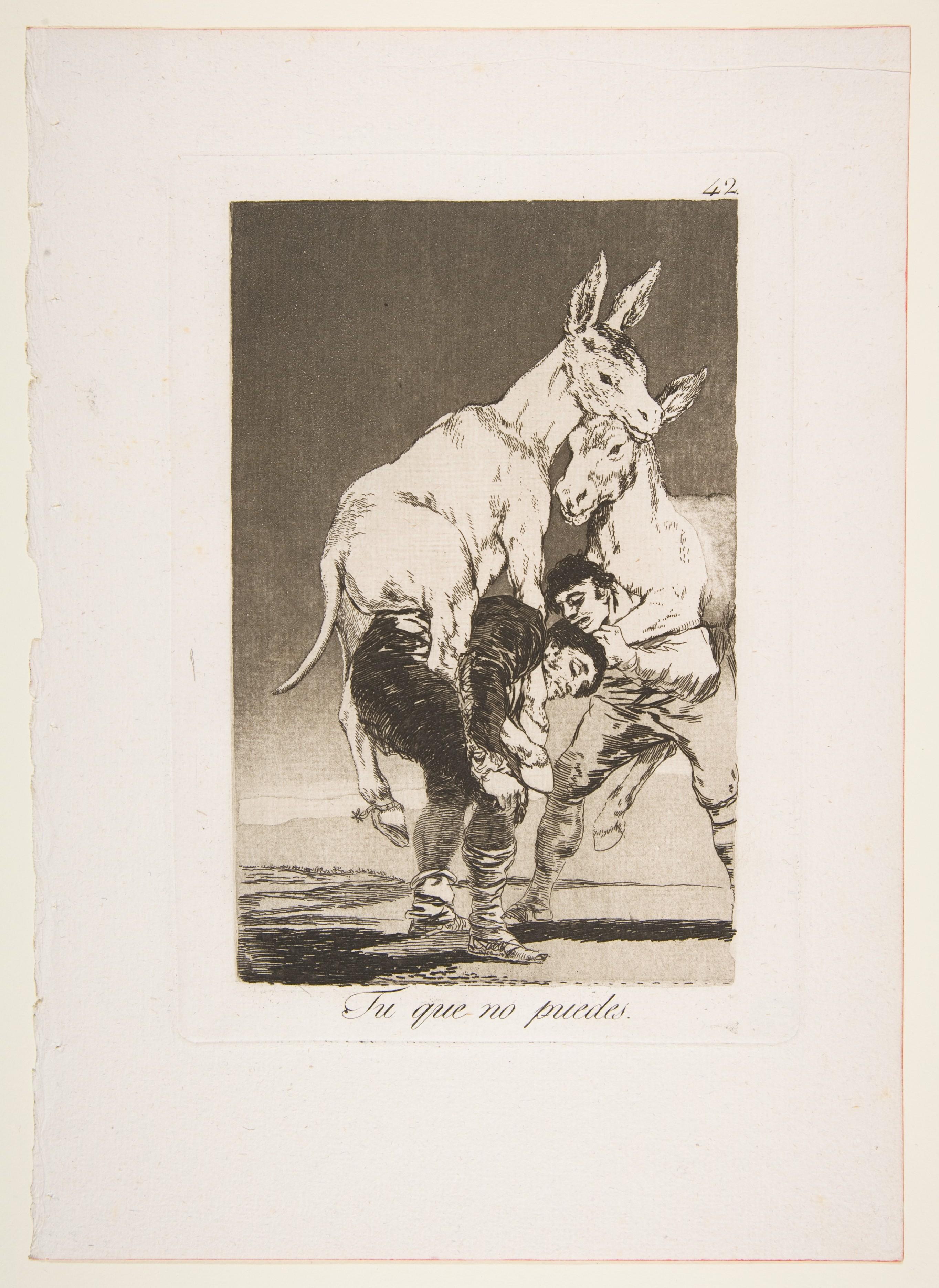 Goya (Francisco de Goya y Lucientes) | Plate 42 from 'Los ...