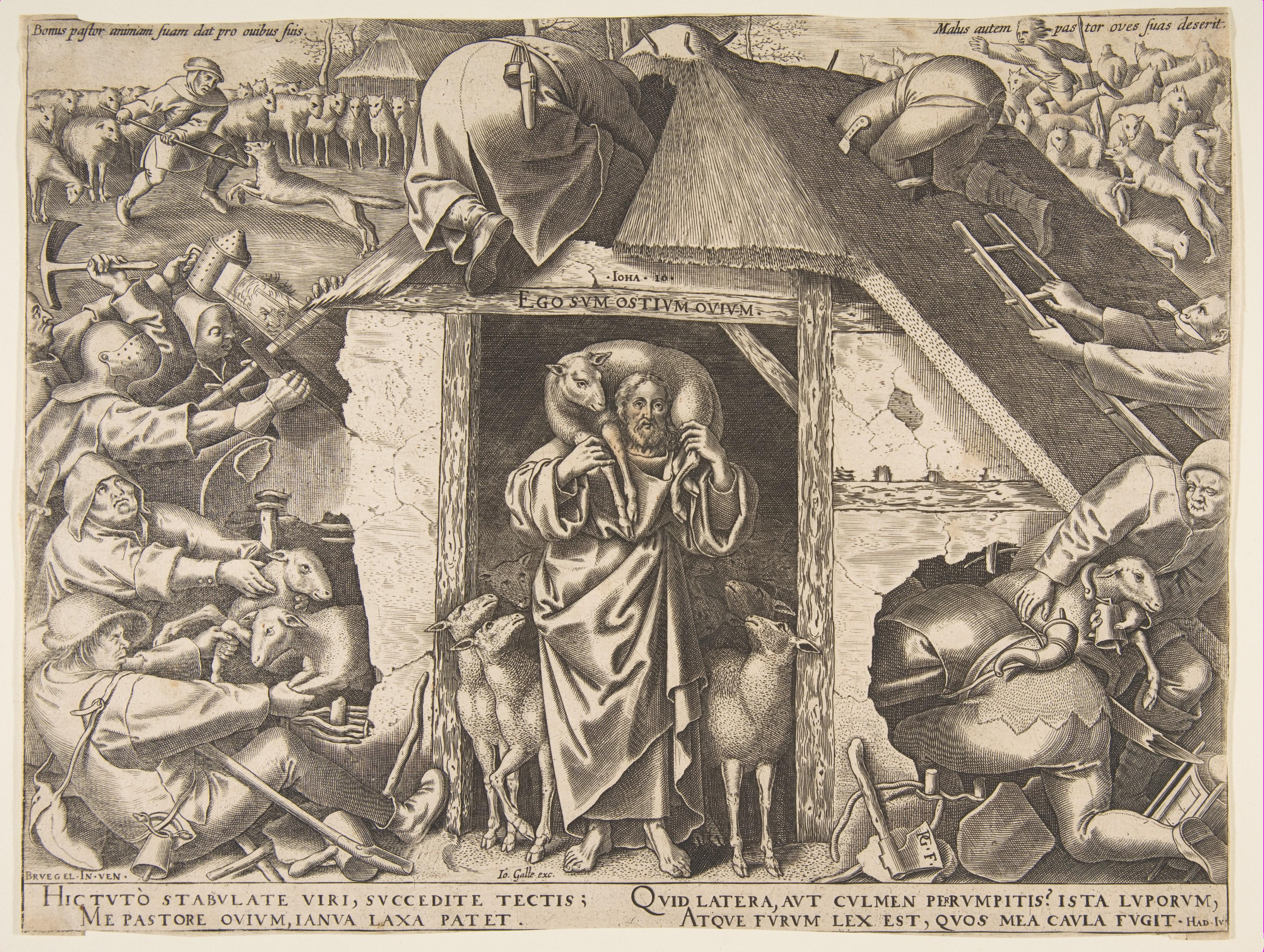 After Pieter Bruegel the Elder | The Parable of the Good Shepherd | The  Metropolitan Museum of Art