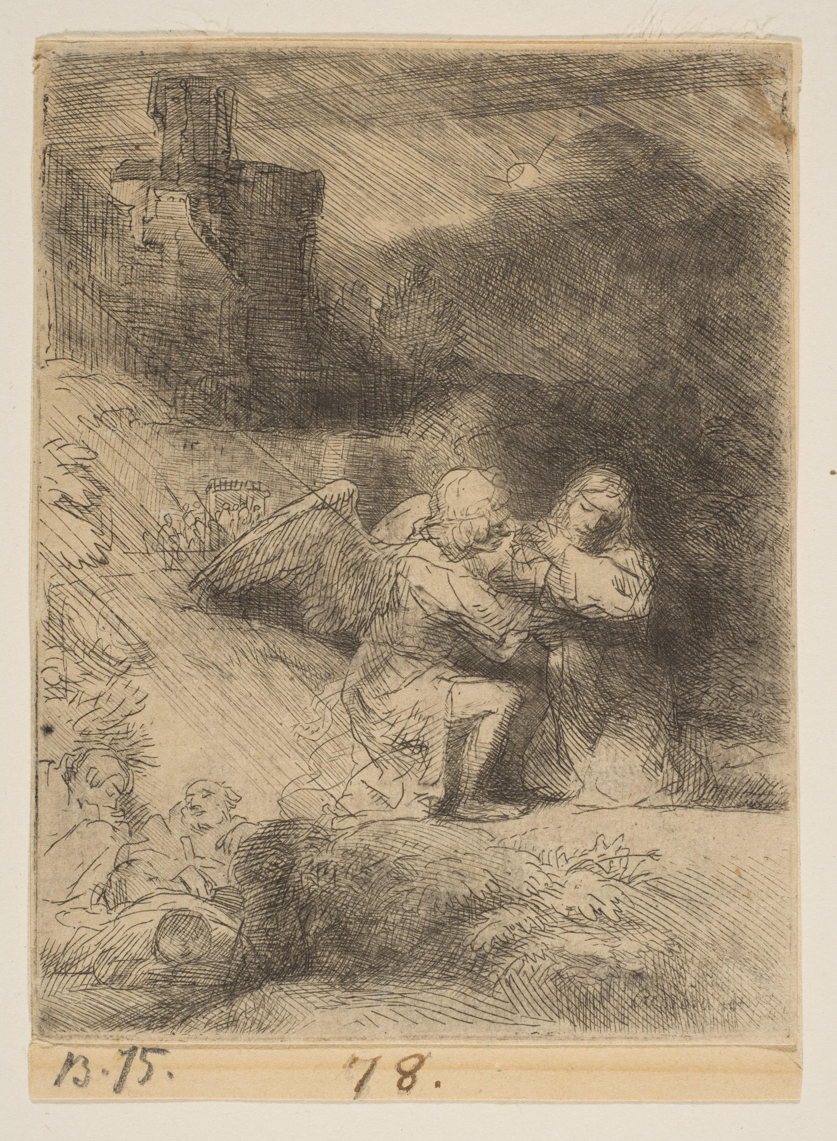 Rembrandt (Rembrandt van Rijn) | The Agony in the Garden | The Met
