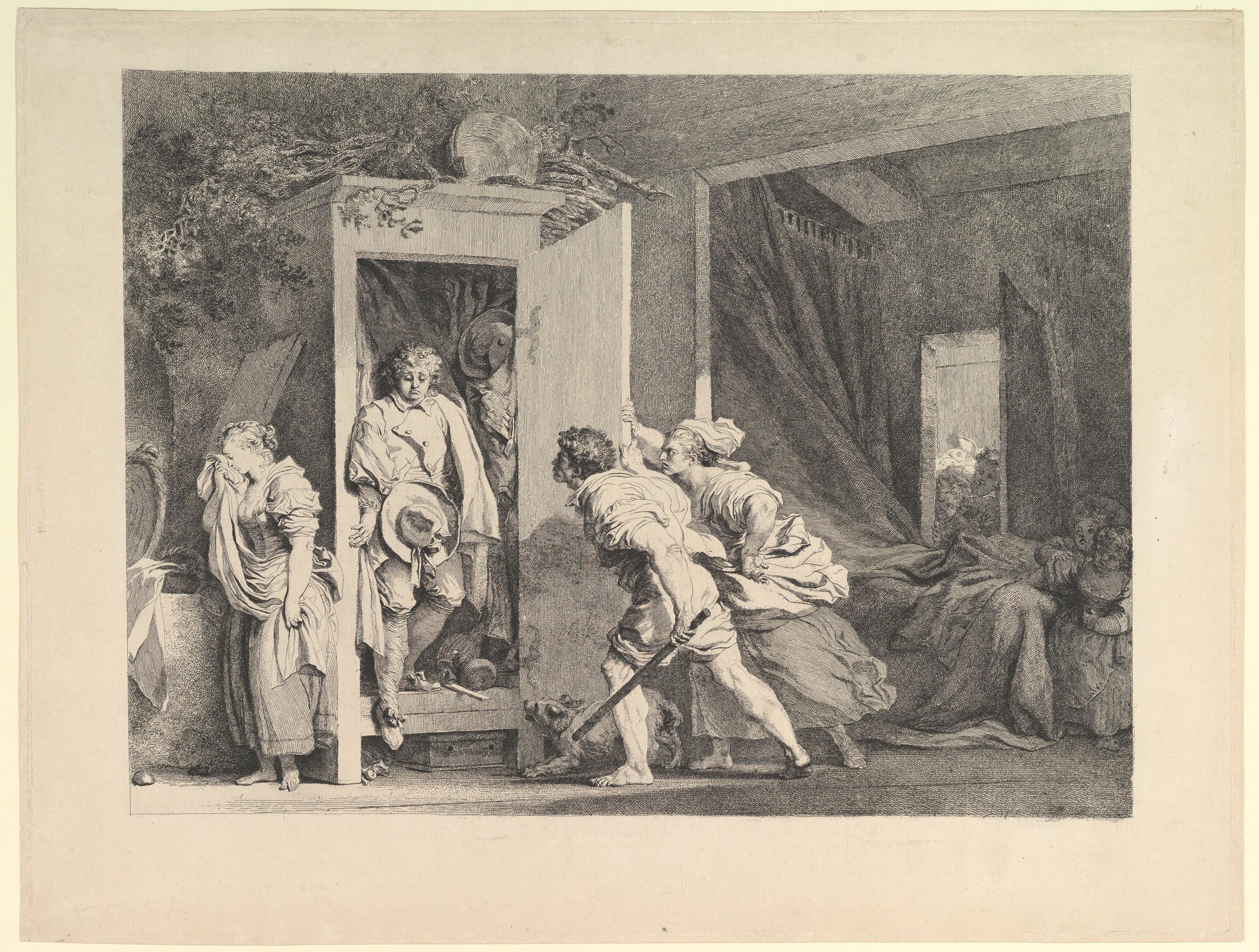 jean honoré fragonard | the armoire | the met