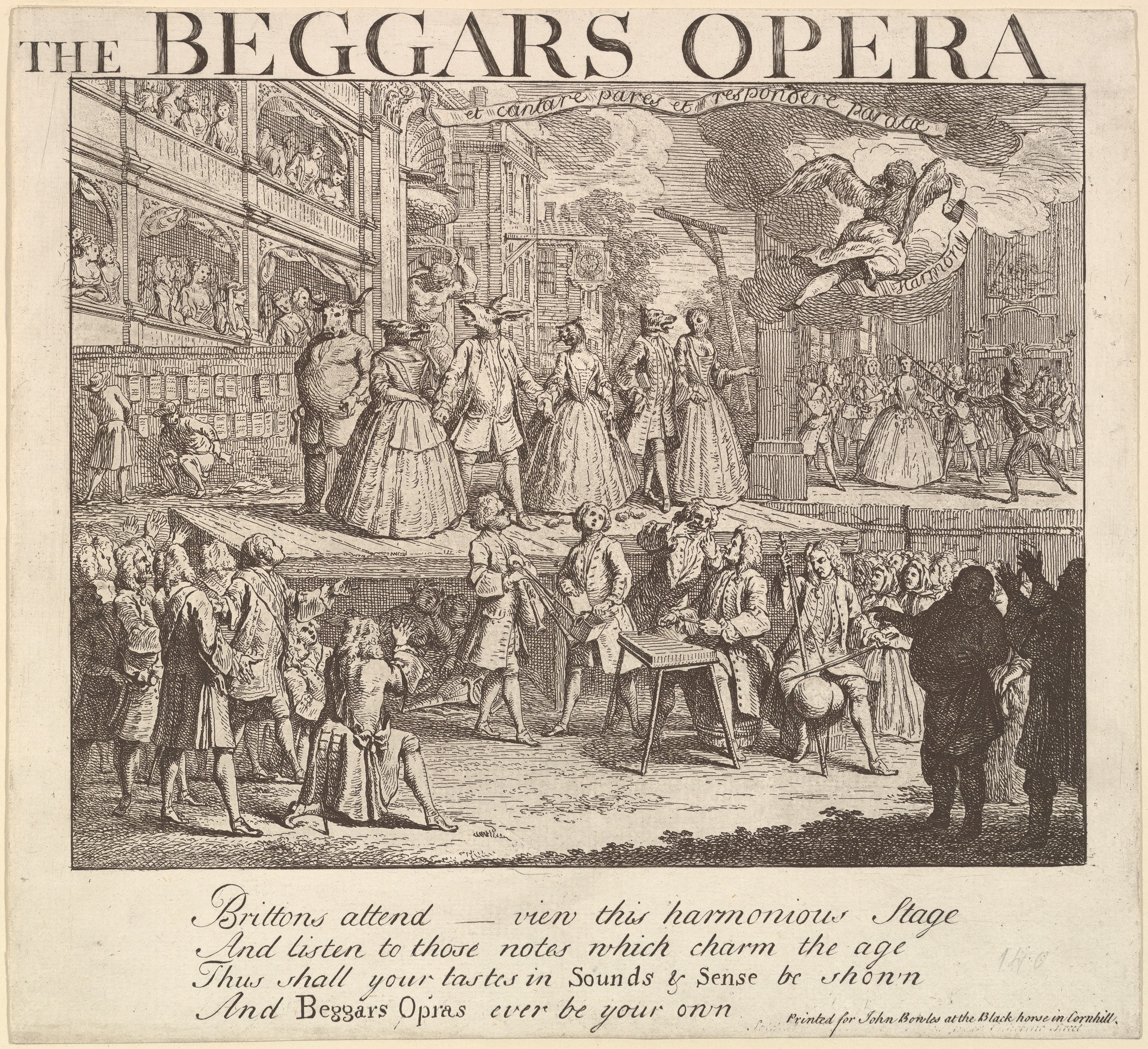 Design formerly attributed to William Hogarth | The Beggar ...