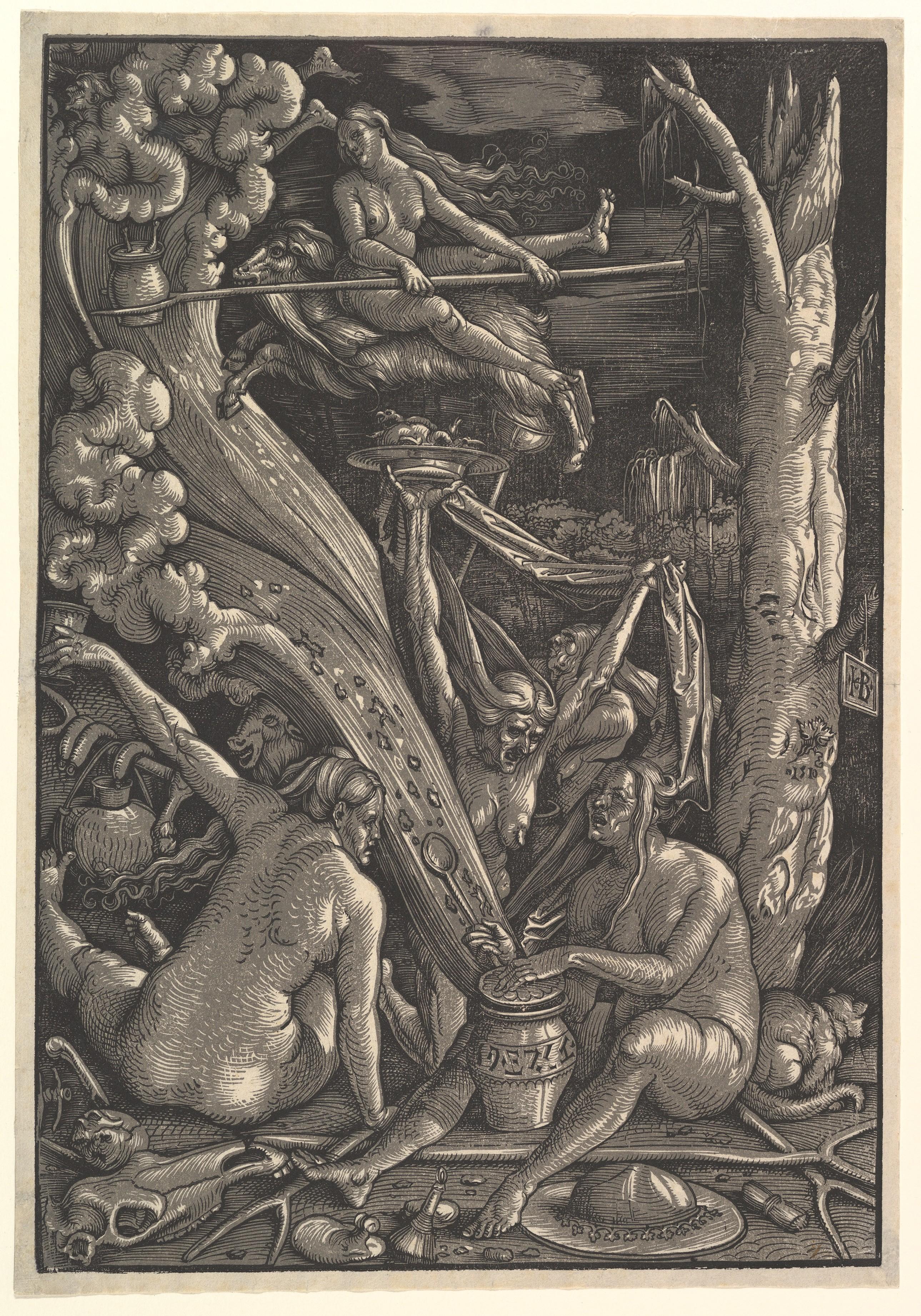 Hans Baldung (called Hans Baldung Grien)   The Witches   The Met