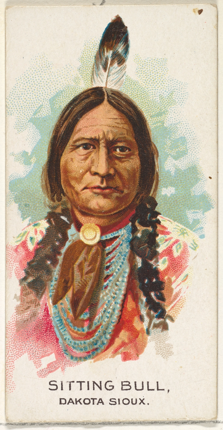 Issued by Allen & Ginter | Sitting Bull, Dakota Sioux, from