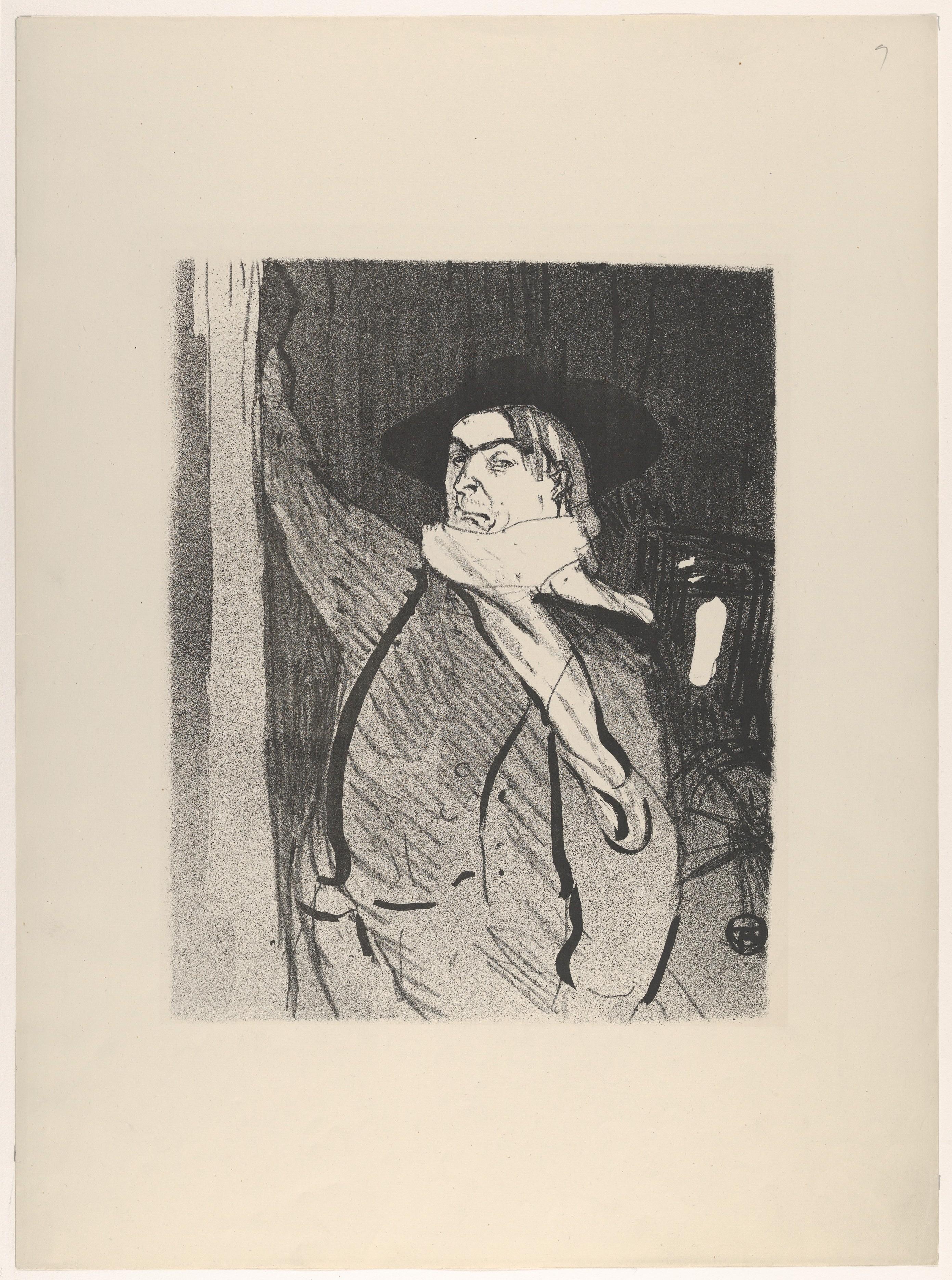 Henri De Toulouse Lautrec Aristide Bruant From Le Café Concert The Metropolitan Museum Of Art