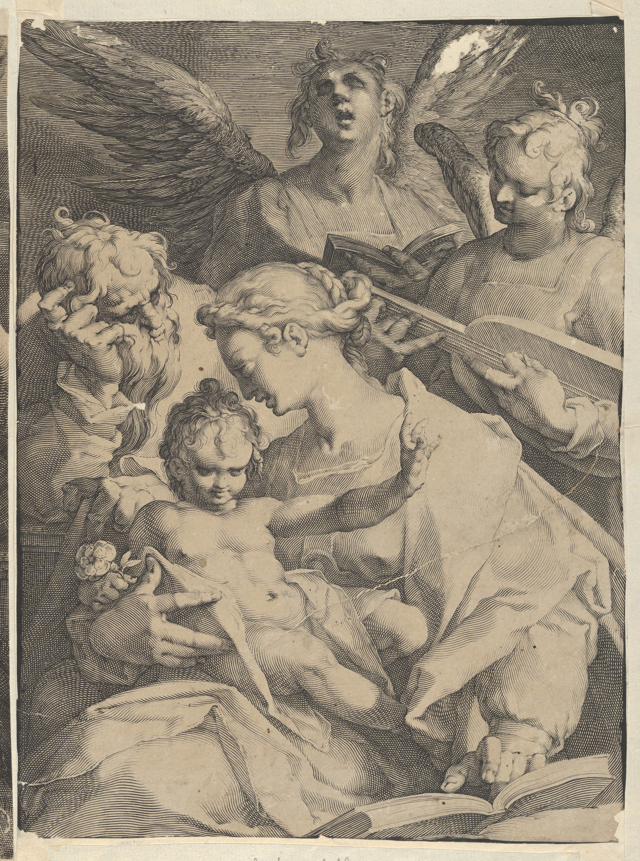 Jan Muller | Holy Family and Two Music-Making Angels | The Met