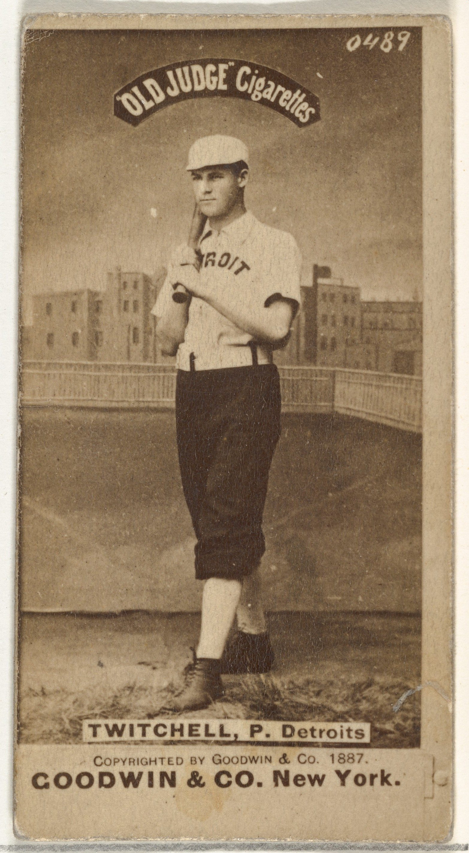 Softball In 1887