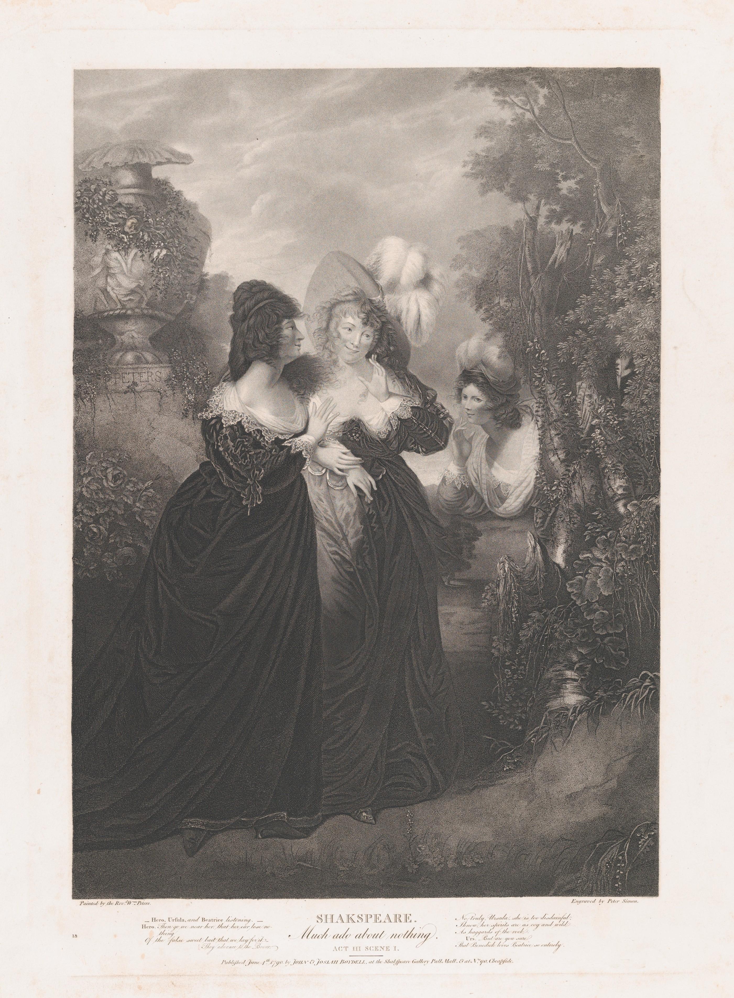 Peter Simon   Hero, Ursula and Beatrice (Shakespeare, Much