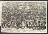 Le Fontane del Giardino Estense in Tivoli con li Loro Prospetti, e Vedute della Cascata del Fiume Aniene, Giovanni Francesco Venturini (Italian, active ca. 1650–1700), Etching
