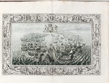 The Tapestry Hangings of the House of Lords Representing the Several Engagements Between the English and Spanish Fleets..., Engraved and published by John Pine (British, London 1690–1756 London), Illustrations: etching and engraving