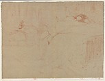 Collapsed on the Bed, from the series Elles, Henri de Toulouse-Lautrec (French, Albi 1864–1901 Saint-André-du-Bois), Crayon lithograph printed in two colors on wove paper