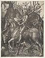 Knight, Death and the Devil, Albrecht Dürer (German, Nuremberg 1471–1528 Nuremberg), Engraving