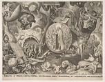 The Descent of Christ Into Limbo, After Pieter Bruegel the Elder (Netherlandish, Breda (?) ca. 1525–1569 Brussels), Engraving; first state of two