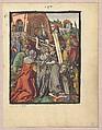 Small Woodcut Passion, Albrecht Dürer (German, Nuremberg 1471–1528 Nuremberg), Hand-colored woodcuts loose in red book binding
