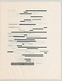 Un coup de dés jamais n'abolira le hasard. Image, Marcel Broodthaers (Belgian, Brussels 1924–1976 Cologne), Artist's book