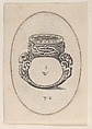 Design for a Ring Watch, Plate 32 from Livre d'Aneaux d'Orfevrerie, Pierre Woeiriot de Bouzey II (French, Neufchâteau 1532–1599 Damblain), Engraving