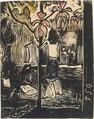Fragrance (Noa Noa), small block, Paul Gauguin (French, Paris 1848–1903 Atuona, Hiva Oa, Marquesas Islands), Woodcut printed in color on Japanese paper