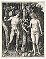 Adam and Eve, Albrecht Dürer (German, Nuremberg 1471–1528 Nuremberg), Engraving