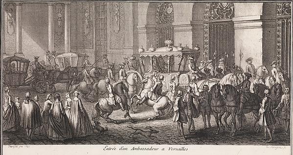 Designed by Charles Le Brun | Grand Escalier du Chateau de ...
