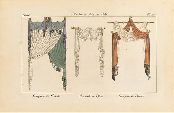 Collection de Meubles et Objets de Goût, vol. 1, Edited by Pierre de La Mésangère (French, Pontigné 1761–1831 Paris), Engraving, hand-colored