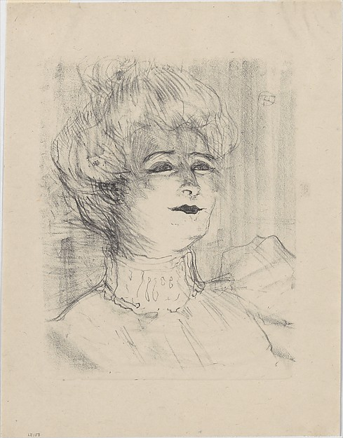 Marie-Louise Marsy, Henri de Toulouse-Lautrec (French, Albi 1864–1901 Saint-André-du-Bois)
