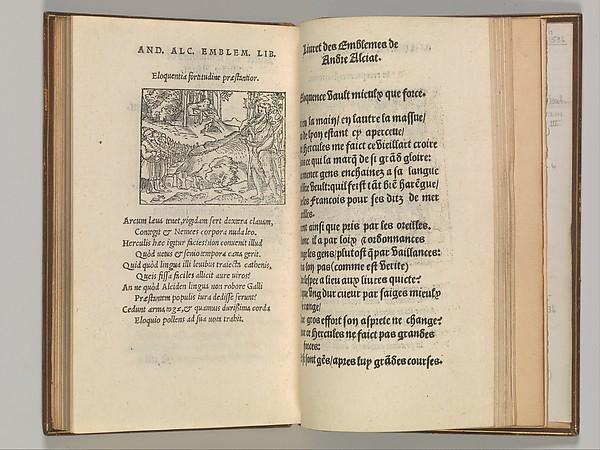 Livret Emblemes de maistre Andre Alciati, Written by Andrea Alciato (Italian, 1492–1550), woodcut